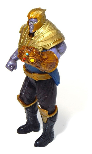 figura thanos avengers infinity war luz 29cm envio gratis!