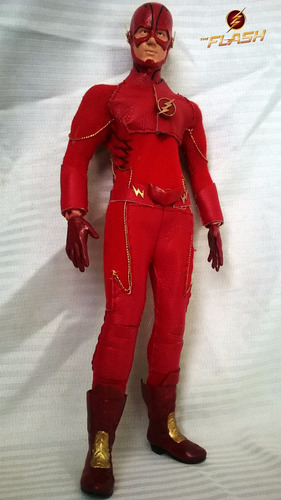figura the flash serie escala 1/6 tipo hot toys