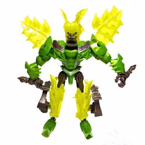 figura tipo transformers deformation verde 05431/ fernapet