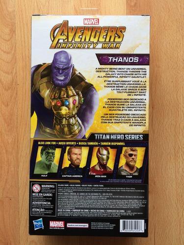 figura titan marvel thanos avengers infinity war 12 pulgadas