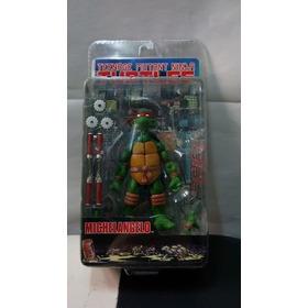 Figura Tortugas Ninja Michelangelo Neca 2008 Leer Detalles