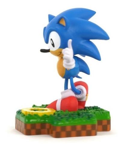 figura totaku #10 sonic the hedgehog orangegameb castelar