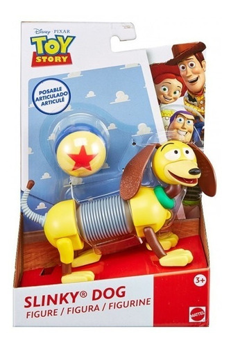 figura toy story slinky doc mattel perrito perro frx10 frx09