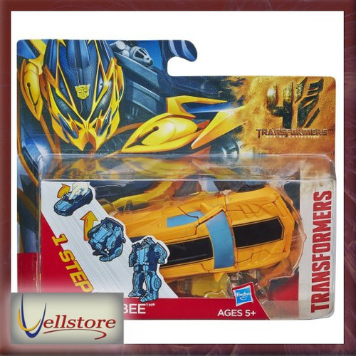 figura transformers extinction bumblebee one step changer
