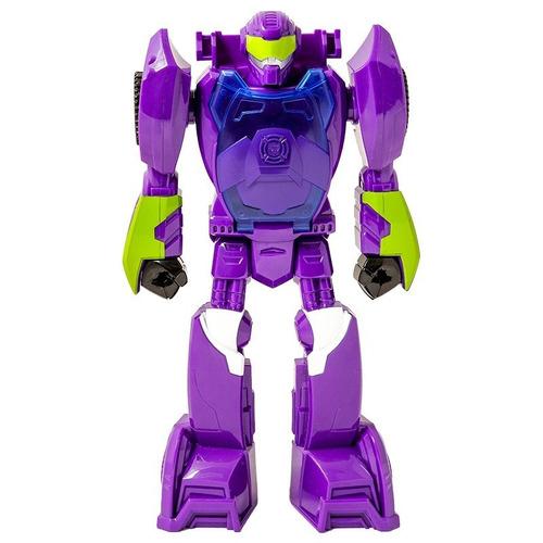 figura transformers rescue bots hasbro morado a8303