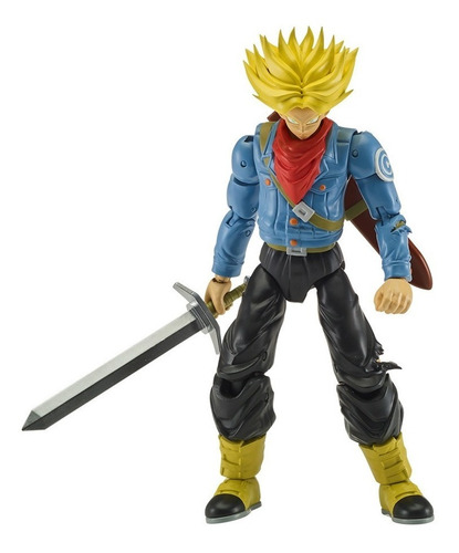 figura trunks del futuro super saiyan dragon stars series 2