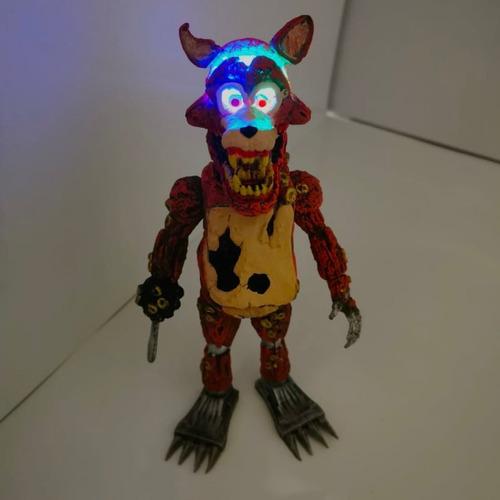 figura twisted foxy nightmare five nights freddys fnaf 21cm
