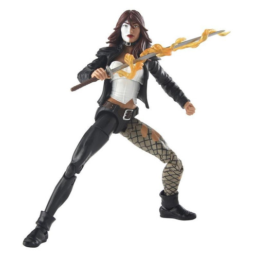 figura typhoid mary 6 pulgadas venom marvel legends