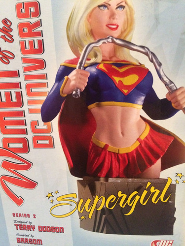 figura women of the universe, supergirl busto, serie 2