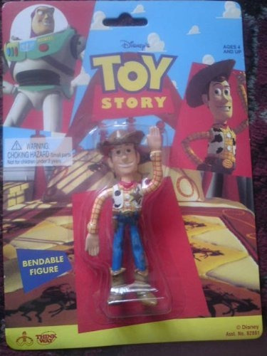figura woody doblable original toy story