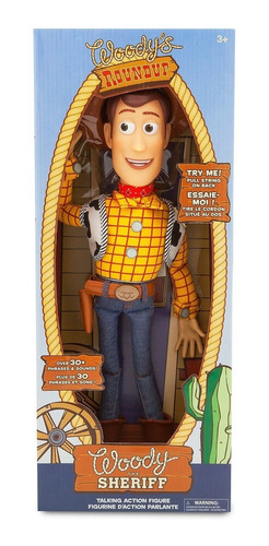 figura woody parlante toy story muñeco original disney 40 cm