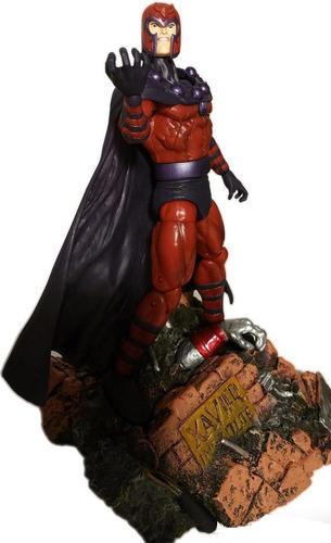 figura x-men - magneto - marvel select