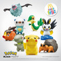 Figuras Pokemon Black & White - Mcdonalds