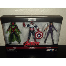 3903e604c2d Captain America Sam Figura en Mercado Libre México