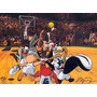 Space Jam Looney Tunes Set Lucas + Piolin + Taz + Monstars +