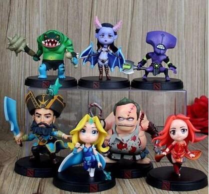 figuras acción muñecos colección