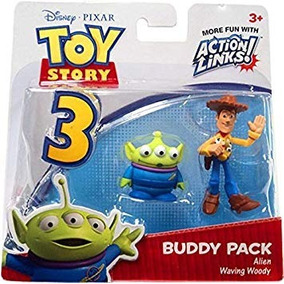 cec42fcf4c7d2 Toy Story Action Links Waving Woody Y Alien Marciano