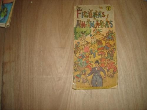 figuras animadas transformaciones comicas antiguo libro infa