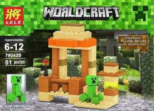 Figuras armables lego minecraft worldcraft 81 piezas bs for Lego world craft