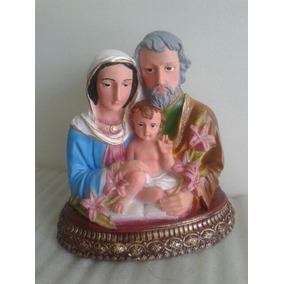 c9c5de39790 Figuras Sagrada Familia Resina - Arte y Antigüedades en Mercado Libre México