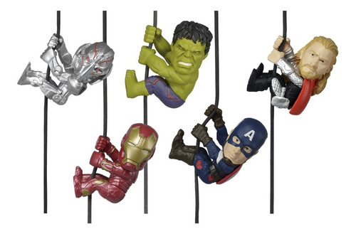 figuras avengers escaladores