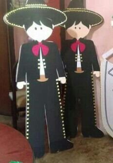 figuras banner en fomi de cualquier personaje personalizados