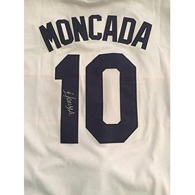 6ba7058905590 Yoan Moncada Autografiada Camiseta Firmada White Sox Star Ga
