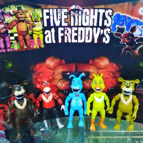 figuras de 15cm de five nights at freddy'sset de 5