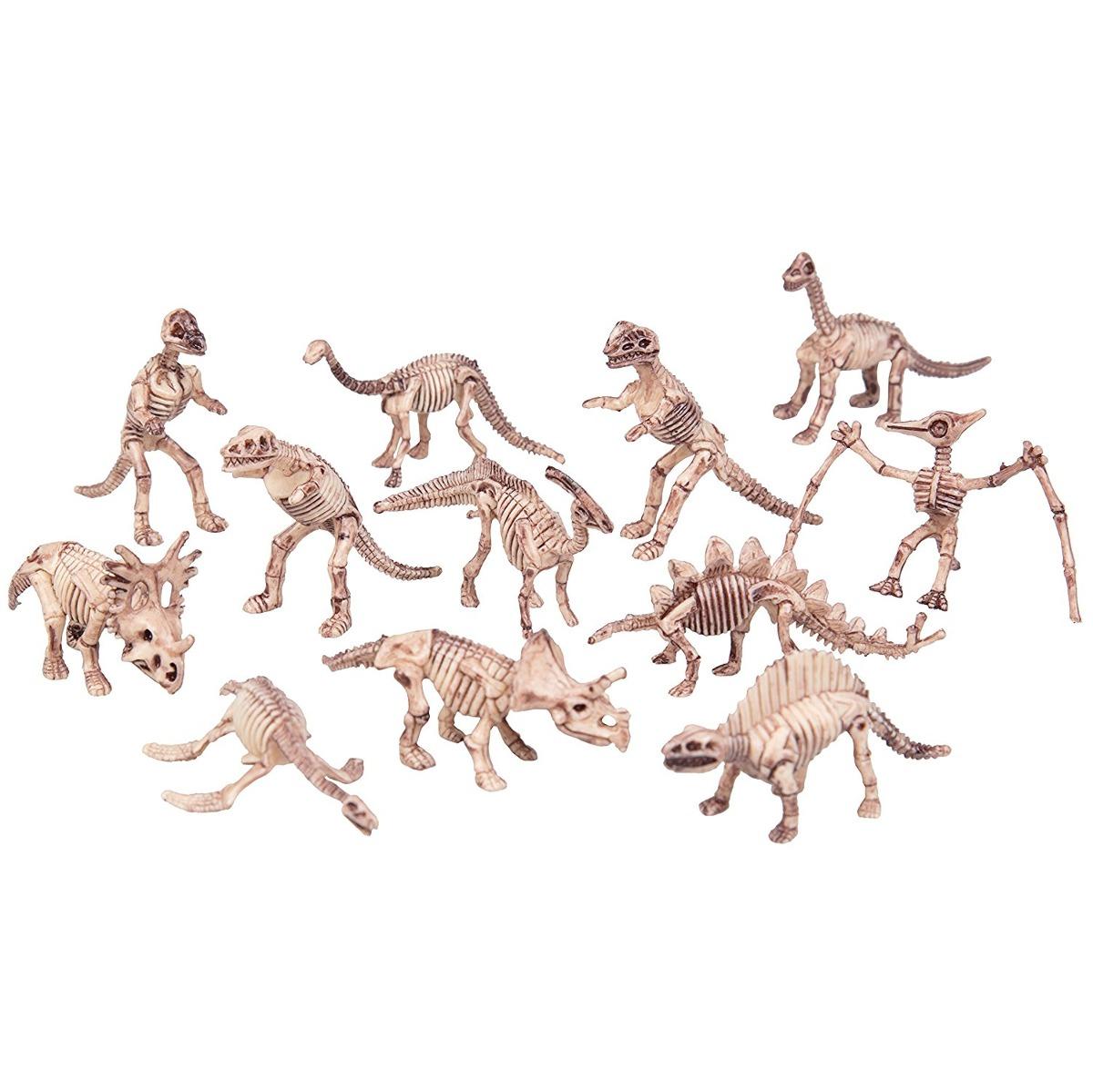 Figuras De Acción Esqueleto De Dinosaurio - Gran Cubo De Din ...