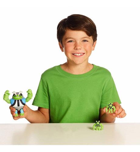 figuras de ação ben 10 - boneco tapinha slapback - original