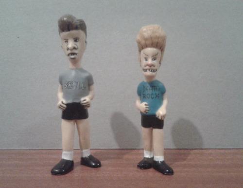 figuras de beavis & butthead retro 1993