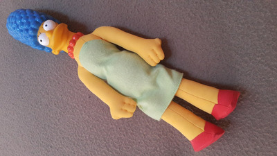 figuras de coleccion de los simpsons bart marge lisa magie