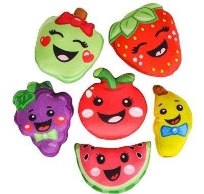 figuras de dibujos animados de fruta de peluche juguetes