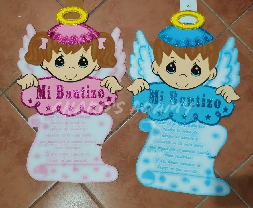 10 Figuras De Fomi bautizo Nińo