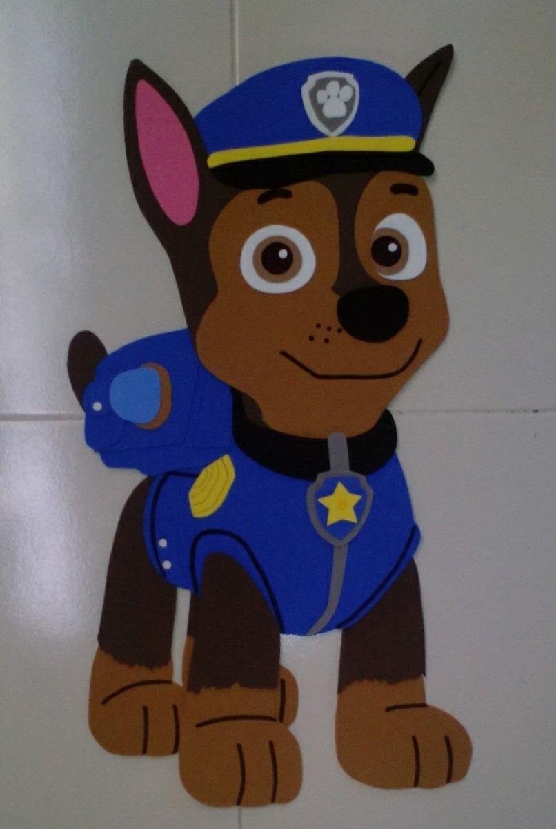 Figuras De Fomi Personajes Paw Patrol Foami Fiesta Chase