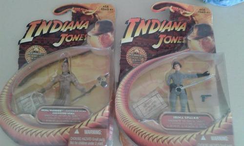 figuras de indiana jones, año 2008 $ 20000 cada una original