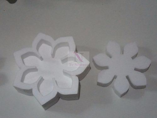 figuras de polyfan 30 cm x 15 cm formas tu nombre importa