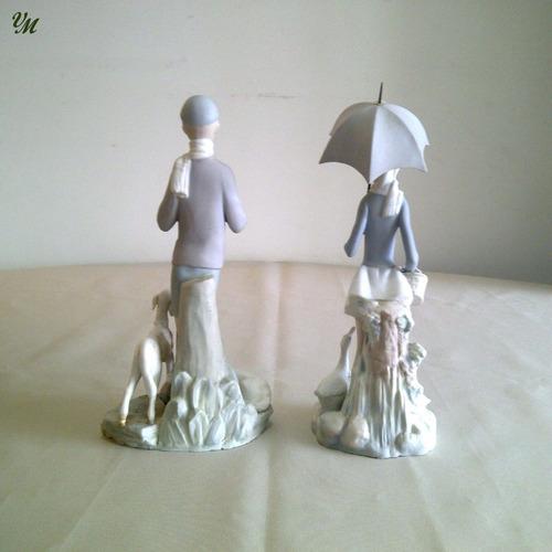 figuras de porcelana nao y tang de lladro