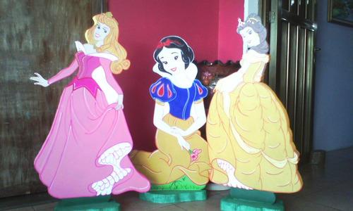 figuras de princesas en mdf 1 metro