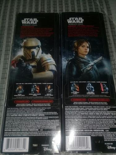 figuras de star wars original hasbro dos por 30v