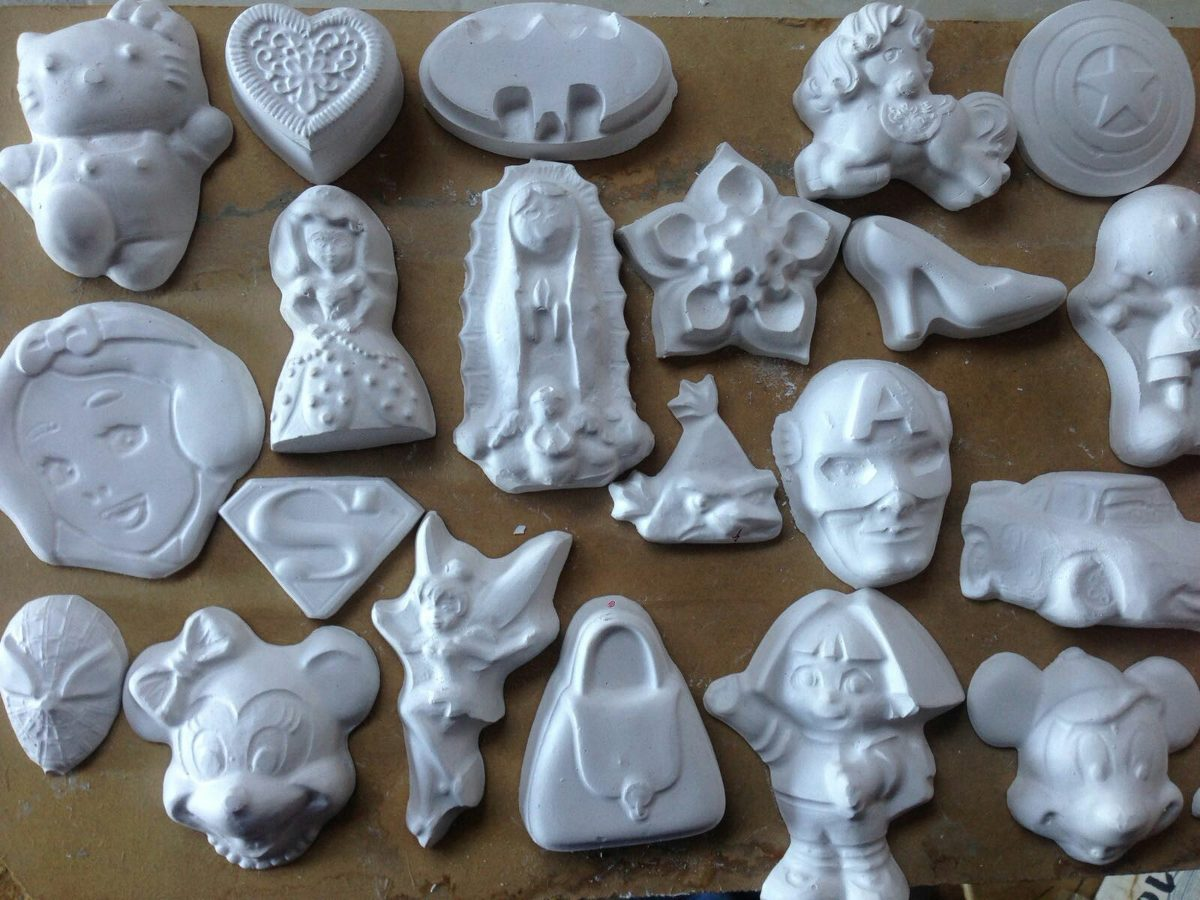 Figuras de yeso para pintar mayoreo en mercado libre for Ceramicas para piezas
