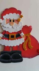 Figuras Decorativas Botas Santas Reno Navidad En Foami