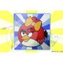 Retablo Con Aplique Angry Birds Arte Country