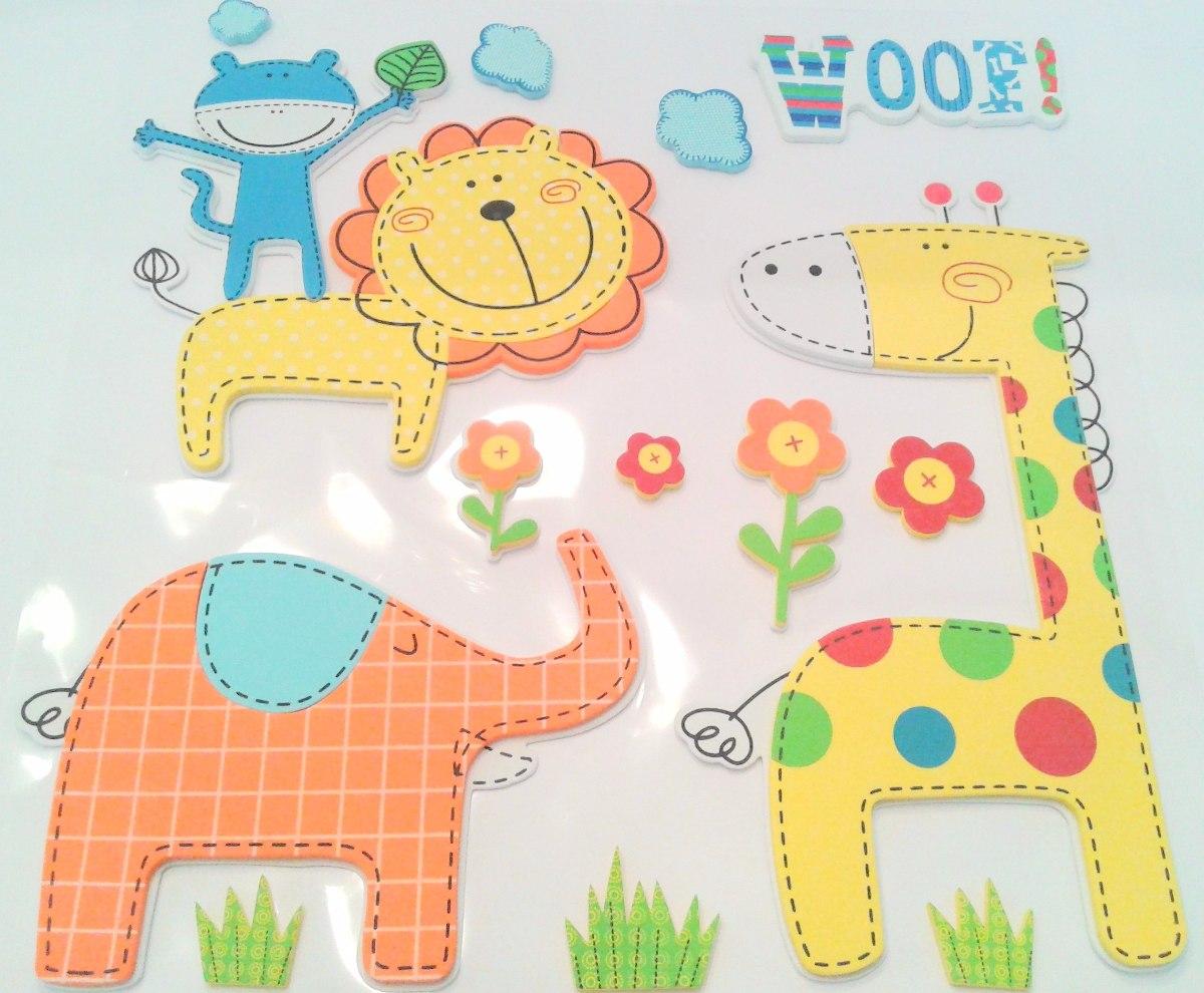 f905919a5e6 figuras decorativas en goma eva para cuarto infantil - selva. Cargando zoom.