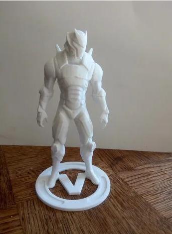 figuras en 3d pesonajes, series a pedido 18- 20cm