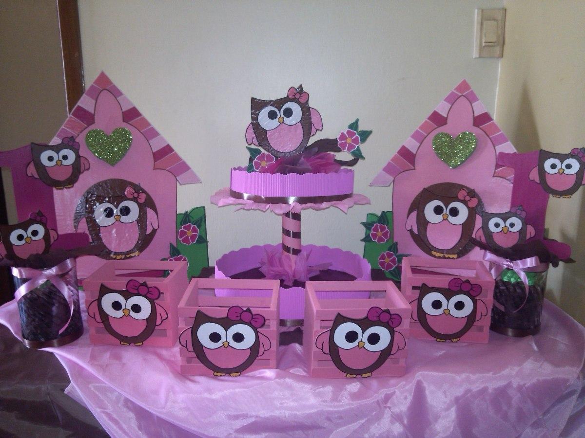 Figuras en anime de buhos decoracion de baby shower bs for Fiesta baby shower decoracion