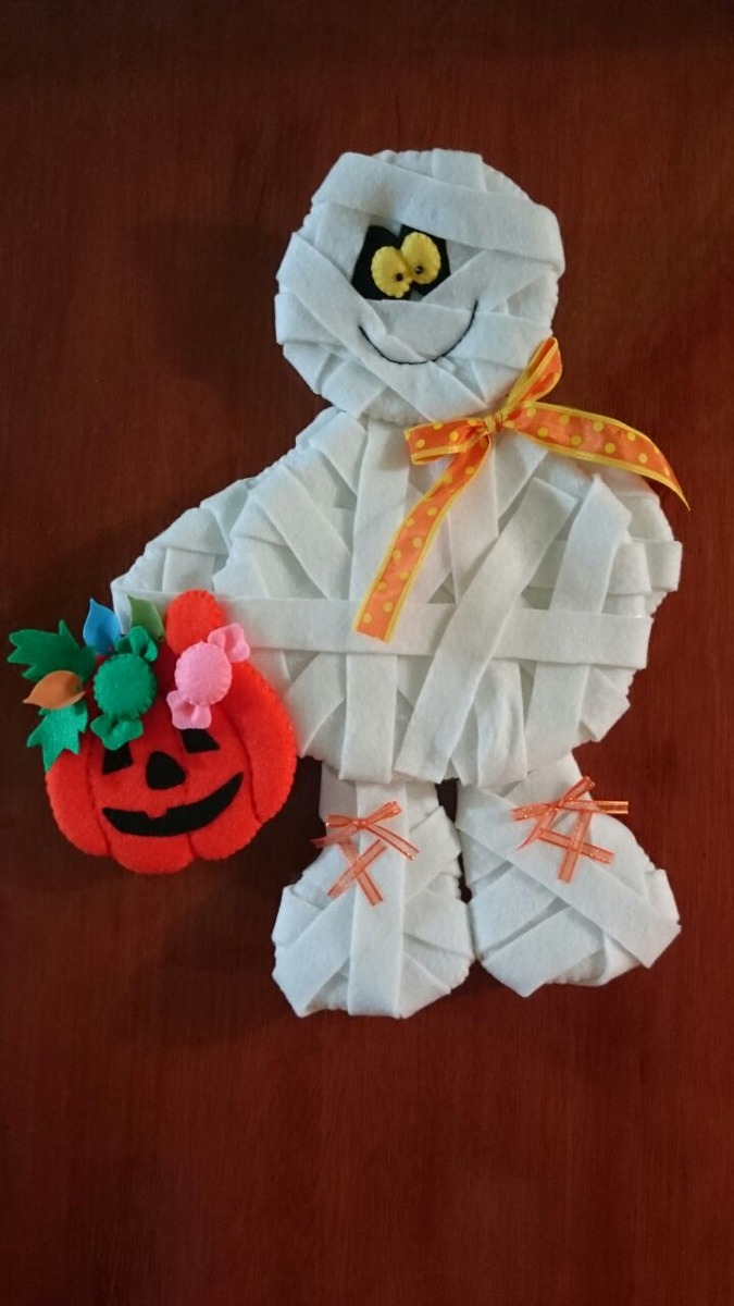Figuras en fieltro halloween navidad etc en - Figuras fieltro navidad ...