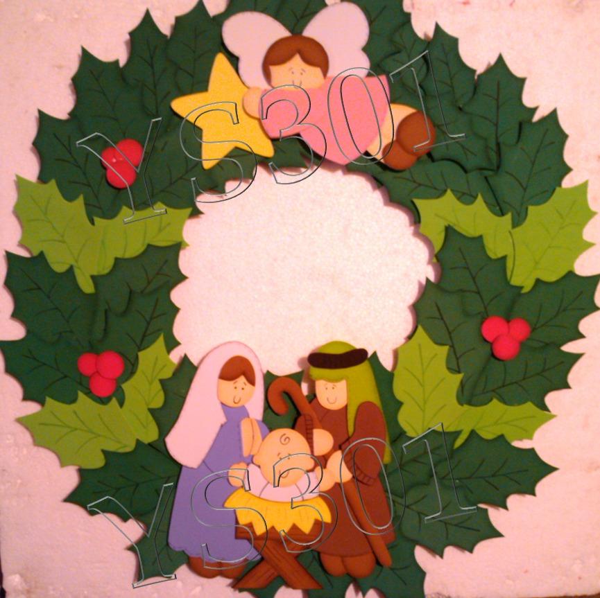 Decoracion De Navidad En Foami ~ Figuras En Foami, Para Navidad  Bs 1 500,00 en Mercado Libre