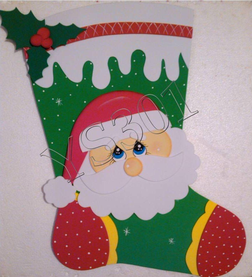 Figuras en foami para navidad bs 1 00 en mercado libre for Figuras de navidad para decorar