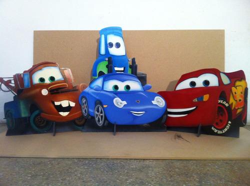figuras en mdf pintadas para decorar sus mesas infantiles